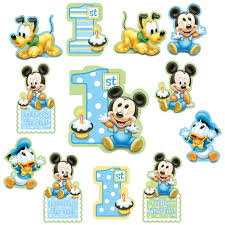 baby mickey 1st birthday invitations alanarasbach com