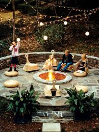 Fire Pit Backyard Garden Design Garden Design With Backyard Landscaping Ideas With