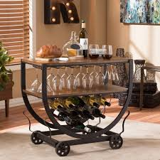 portable cocktail set bar carts kitchen u0026 dining room furniture the home depot
