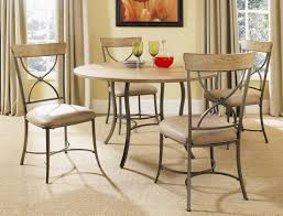 round metal dining room table hillsdale charleston round dining table with metal base 4670dtb