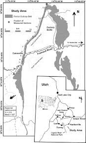 Delta Utah Map by Stratigraphic Uncertainty In Sparse Versus Rich Data Sets In A