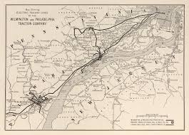 New York Central Railroad Map by