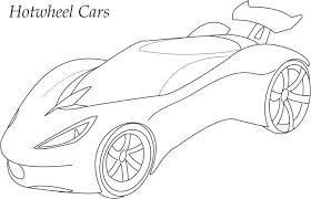 hotwheels car coloring printable kids