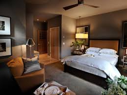 master bedroom color scheme brown wooden bed having blue blanket