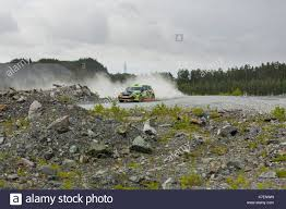subaru impreza wrx 2017 rally asbestos russia august 6 2017 final 6th stage of the russian