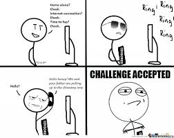 Challenge Accepted Memes - fap challenge accepted by taladametz meme center