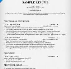 Project Manager Resume Description Project Manager Resume Resumes Of Project Managers A
