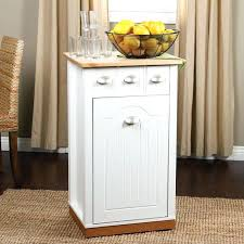 kitchen island trash bin kitchen island with trash bin handmade butcher block