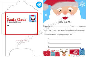 free printable writing paper to santa free printable letter to santa and envelope for children artsy