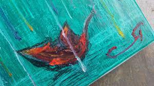 rachel redleaf oil pastel paintings on canvas by artist rachel cross