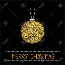 black christmas cards christmas glitter gold merry christmas card dash line