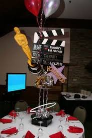 Sweet 16 Party Centerpieces For Tables by Hollywood Decor Centerpiece For Service Club We Could Write The