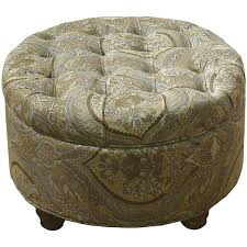 Tufted Round Ottoman Coffee Table by Ottoman Round Tufted Ottoman With Storage Belham Living Coffee
