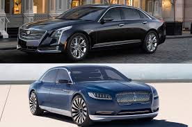 lincoln continental american luxury face off cadillac ct6 vs lincoln continental concept