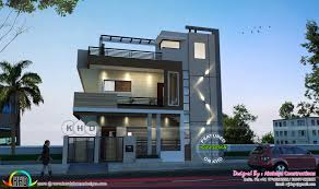 Home Design 40 60 by Modern Karnataka Home Design By Akshaya Constructions Kerala