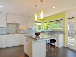 kitchen decorating cabinet paint color ideas yellow and white