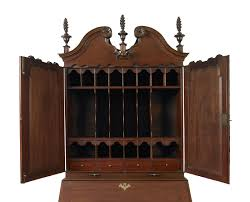 Chippendale Secretary Desk by Rare And Important Chippendale Secretary Jeffrey Tillou Antiques