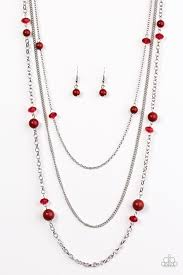 red necklace images Necklaces paparazzi accessories jewelry jpg