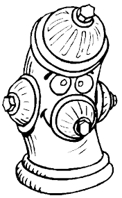 free fire coloring pages fire hydrant coloring crafts