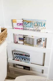 magazine racks for bathroom pleasing your reading time with a new