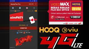 cara merubah kuota hooq menjadi paket menggunakan anonyton trik cara merubah kuota videomax hooq viu menjadi telkomsel flash