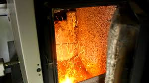 heating a farmhouse with a wood chip boiler biomass heater