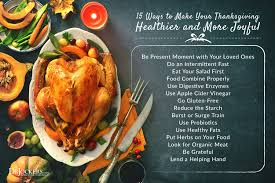 15 ways to make your thanksgiving healthy