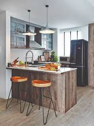 Open Concept Kitchen Design Great Open Concept Kitchens In Hdb Flats And Apartments Home