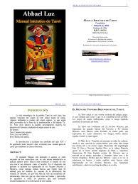 manual de tarot inicial
