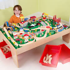 table top train set waterfall mountain train set table best table decoration
