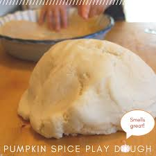 diy pumpkin pie playdough tinkerlab