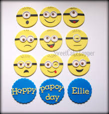 minions cake toppers additional shipping charges for ms esmeralda minion cupcake