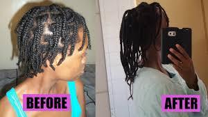 natural hair braids helped my hair grow 4b 4c hair youtube