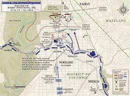 Stevens Campus Map The Battle Of Fort Stevens Civil War Trust