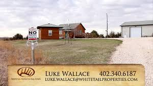 nebraska big buck farm with cabin for sale thayer county 62