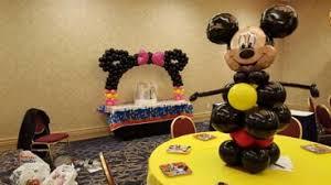 mickey mouse balloon arrangements centerpieces philadelphia pa dino s party center balloon