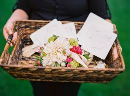 basket for wedding programs everything you need to about your wedding program