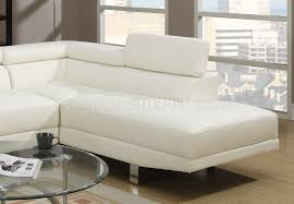 sectional sofa by boss in off white leatherette