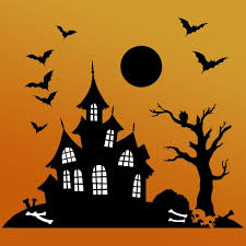Stencils For Home Decor Haunted House Halloween Stencil Craft Stencils For Diy Halloween