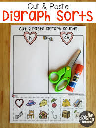 cut and paste digraph sorts this reading mama