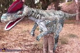 velociraptor costume dinosaur costume