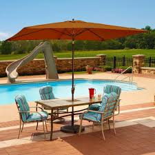 Deck Umbrella Replacement Canopy by Cantilever Umbrellas Patio Umbrellas The Home Depot