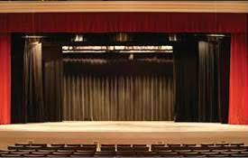 theatrical stage curtains