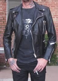 motor leather jacket mayhem trooper 2 mens motorcycle leather jacket
