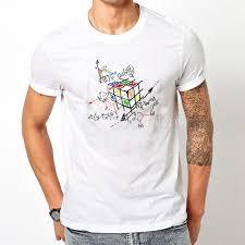 new fashion math work design men u0026women t shirt short sleeve
