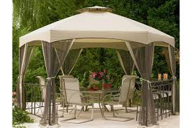 Gazebo With Awning Replacement Canopies For Gazebos Pergolas And Swings The
