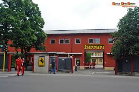 ferrari factory building maranello 2008