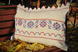 Pillow Store Medreana Vintage Transylvanian Embroidered Pillow Cover