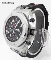 audemars piguet royal oak offshore black theme 26470st chrono 95