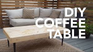 Diy Coffee Tables - diy coffee table youtube